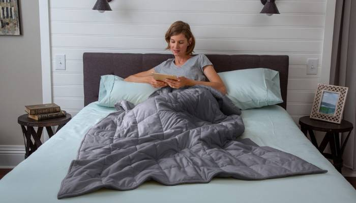 how do weighted blankets help anxiety?