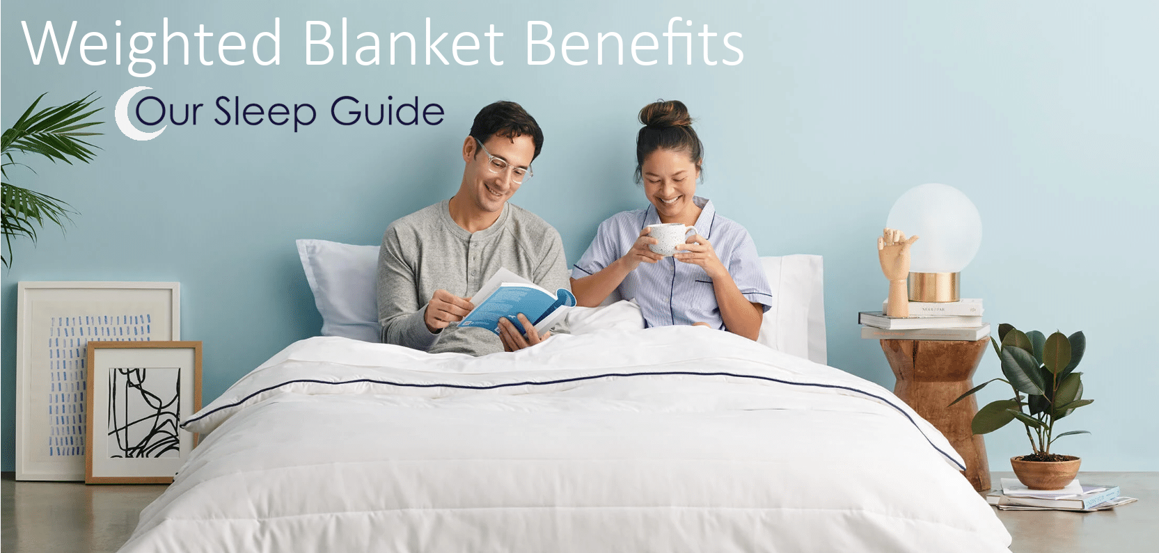 benefits of sleeping with a weighted blanket