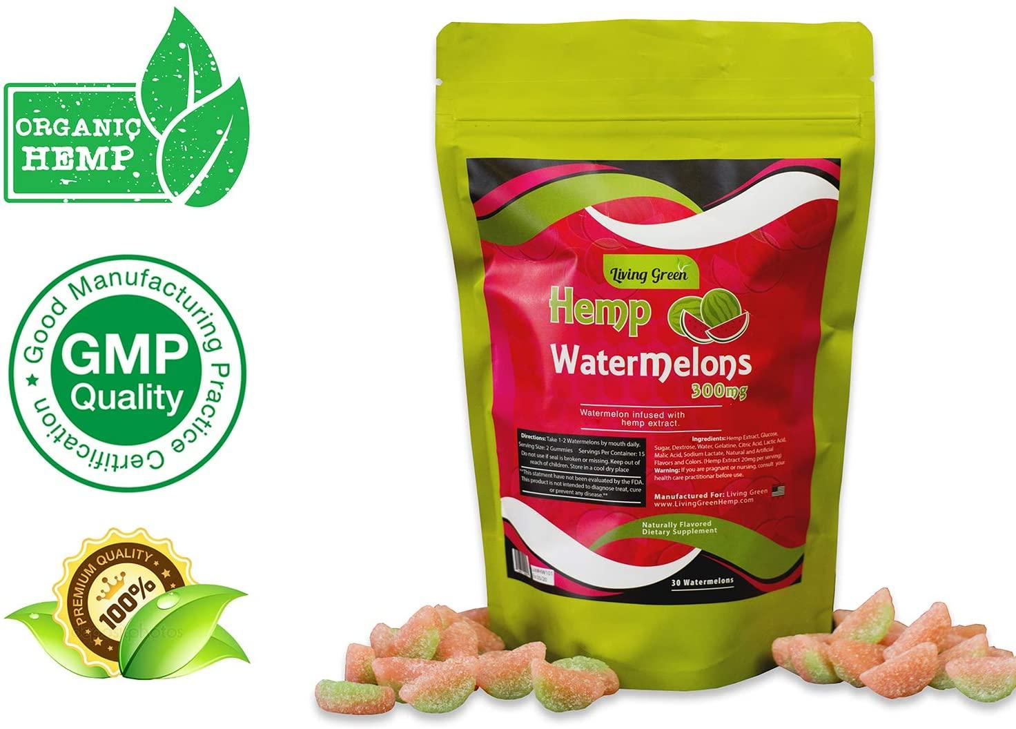 watermelon gummies with cbd to help you sleep