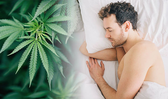 man and cbd oil