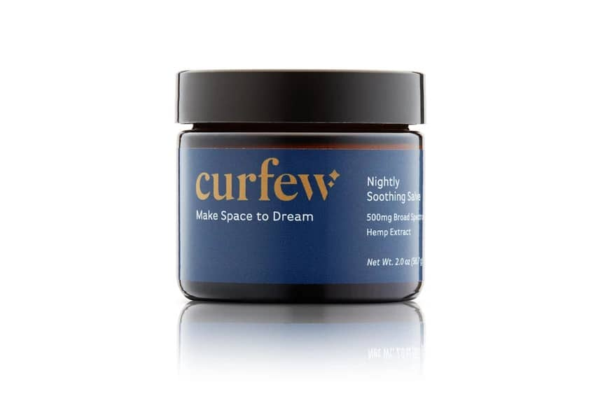 curfew sleep products salve for sleep