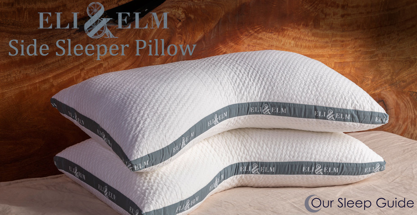 the side sleeper pillow from eli&elm review
