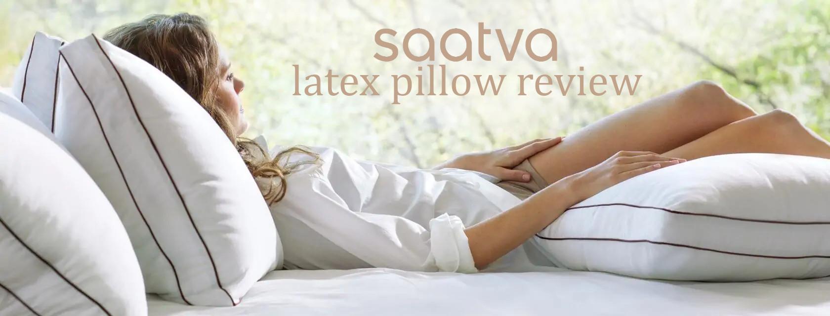 saatva latex pillow review