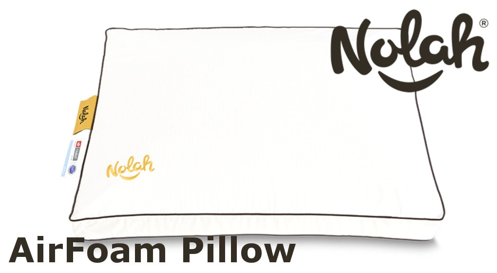 Nolah AirFoam Pillow brown