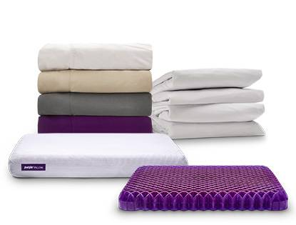 purple accessories mattress
