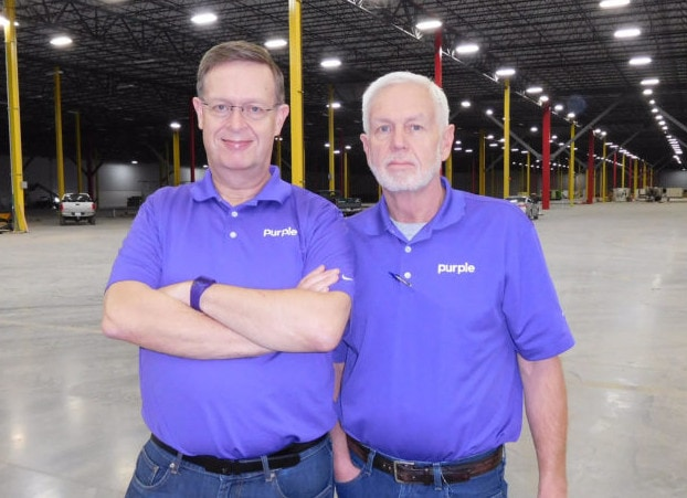 purple mattress founders