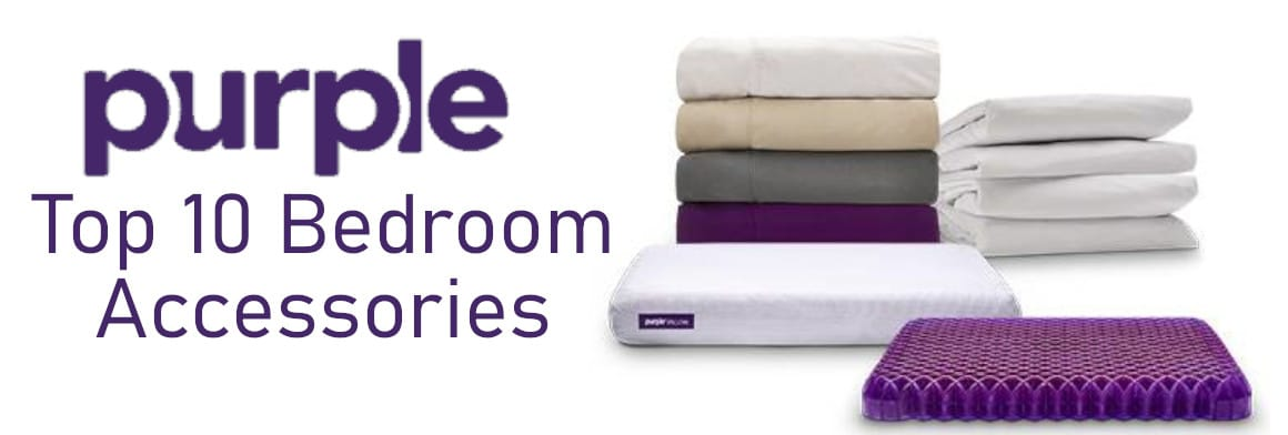 purple top 10 accessories for the bedroom