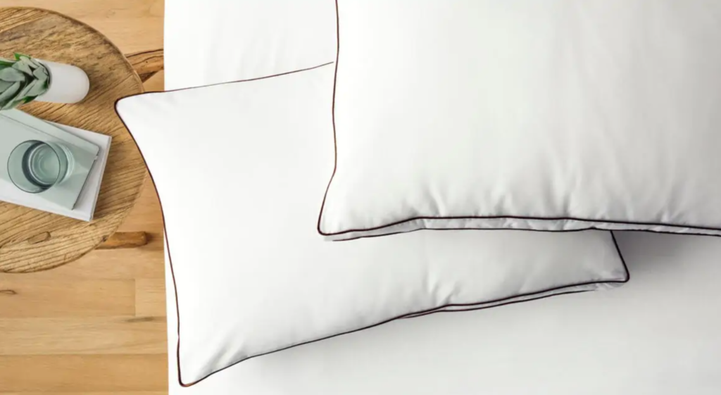talalay latex pillow with cotton fill
