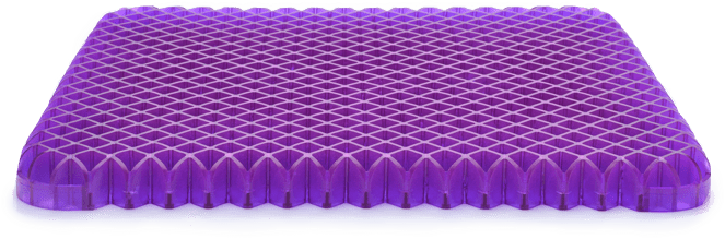 purple bed seat cushion