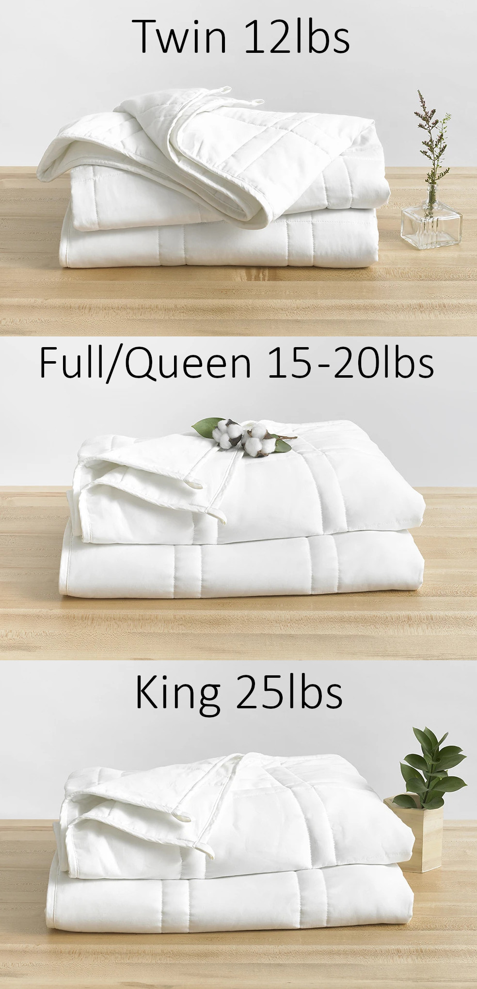 what size weighted blanket should i get?