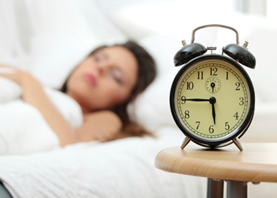 too much sleep clock