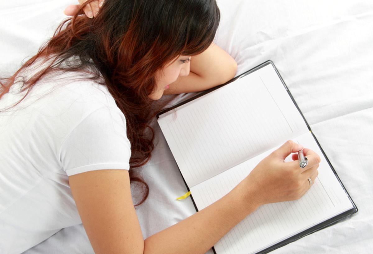 create a sleep journal