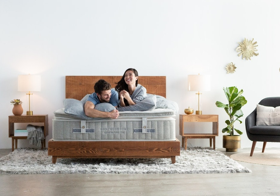 cedar natural luxe hybrid mattress
