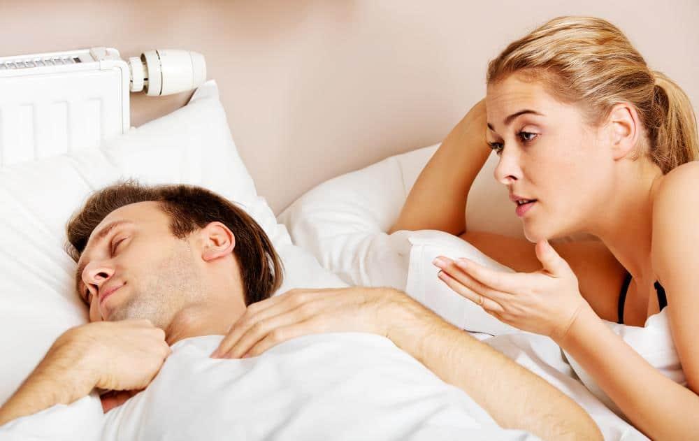 partner sleep talking