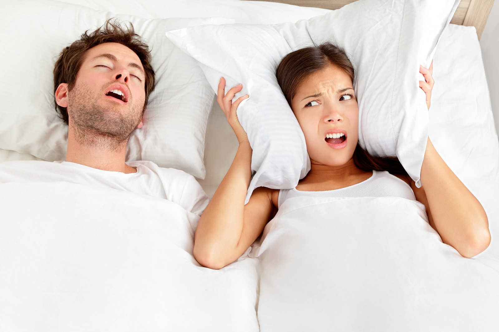 stop sleep talking