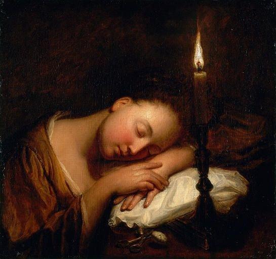 history of sleep electricity