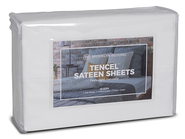 tencel sateen sheet package