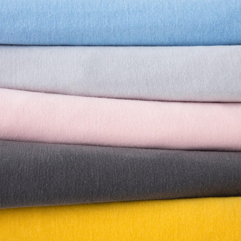 colors for jersey knit cotton tencel sheets