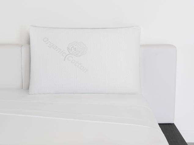 all latex and organic cotton pillow design