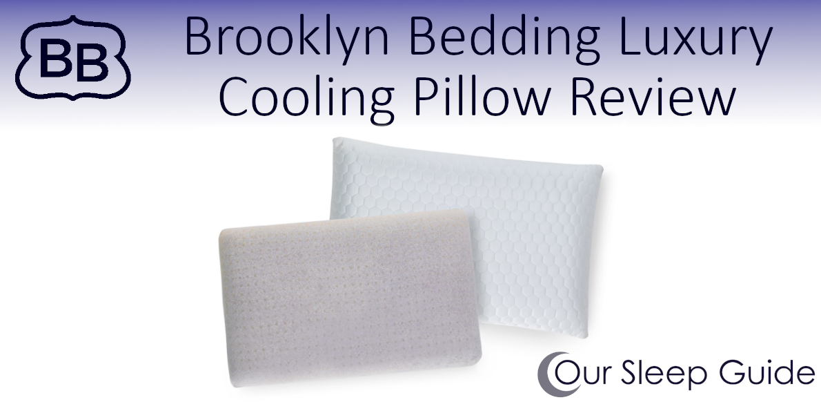 brooklyn bedding luxury cooling pillow review
