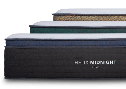 helix luxe mattress comfort options