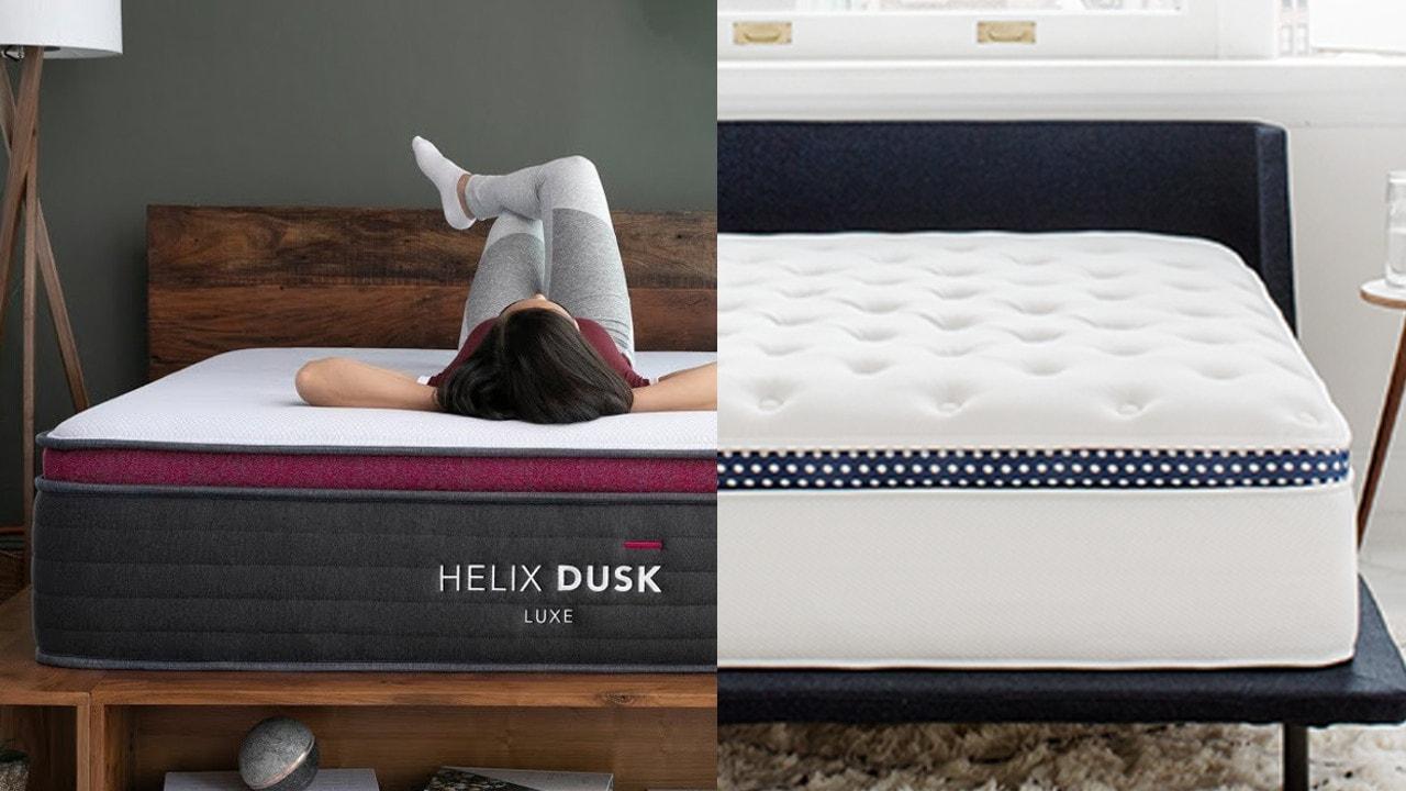 helix luxe vs winkbeds