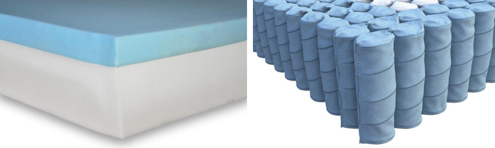 hybrid vs memory foam mattress