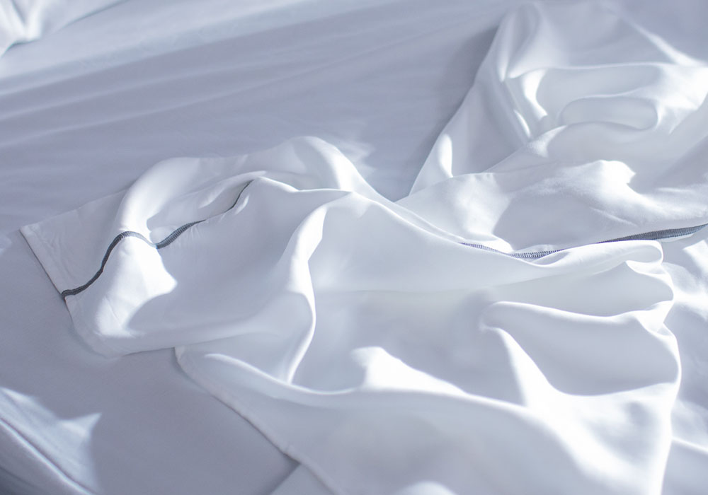 comfy white layla sheets