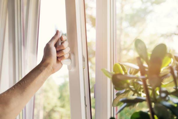 better sleep while sick close windows
