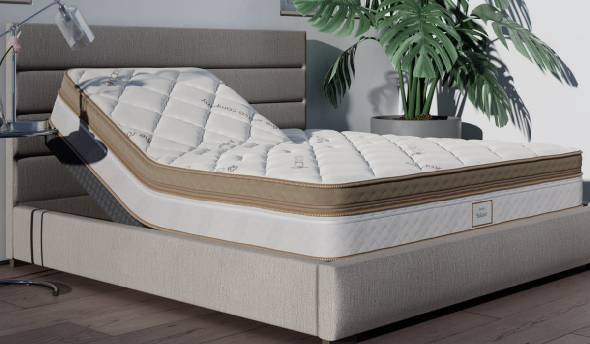 solaire adjustable air bed