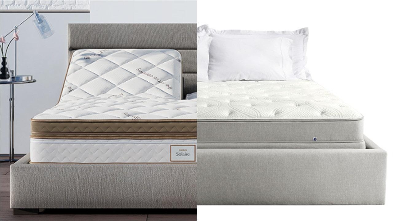 solaire vs sleep number mattress