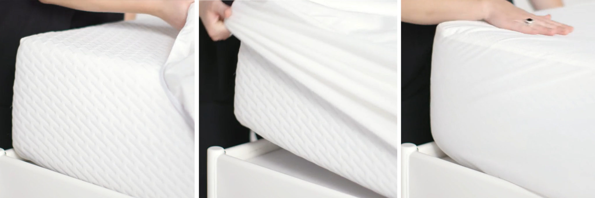 putting on your mattress protector