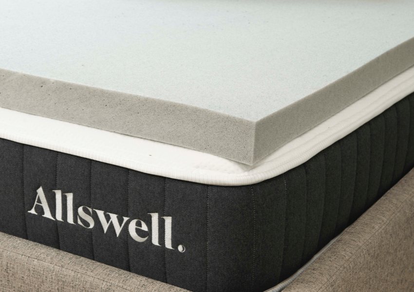 allswell memory foam mattress topper