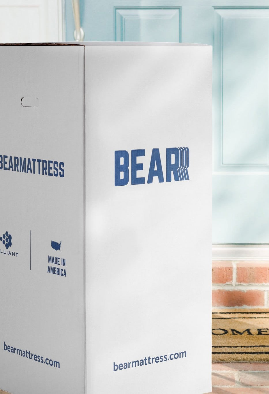 bear mattress box