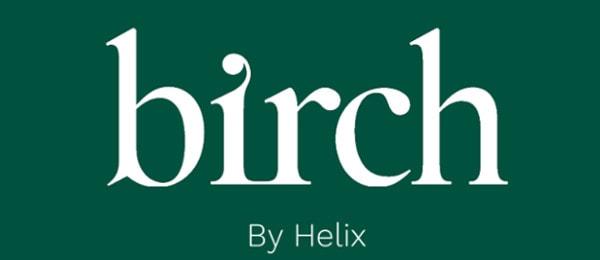 birch mattress logo helix