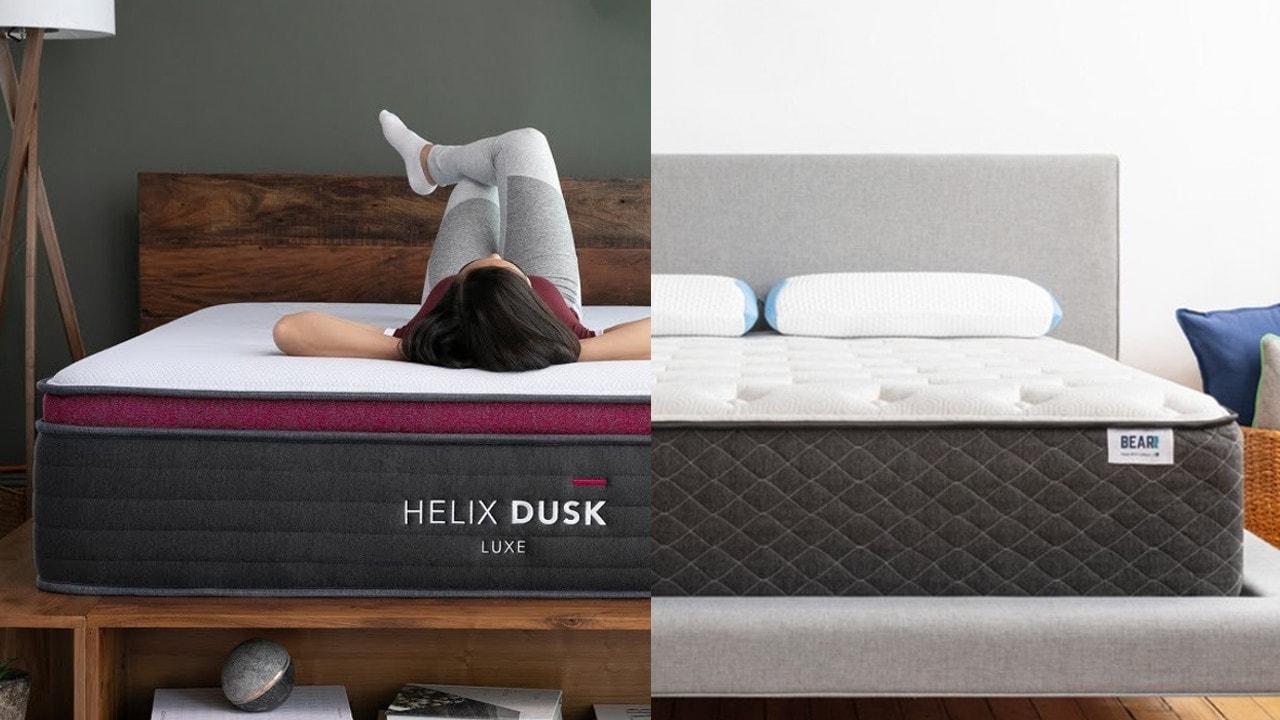 helix luxe vs bear hybrid