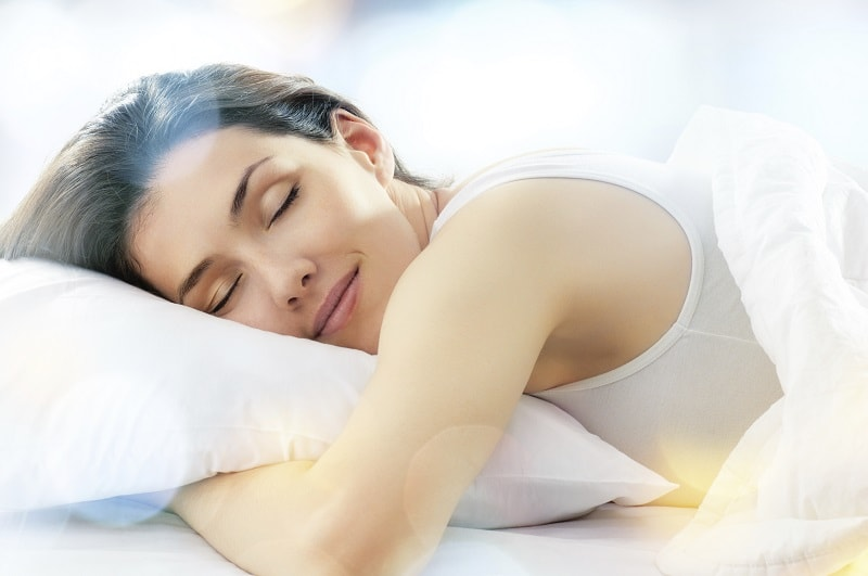 peaceful sleeping zen feng shui