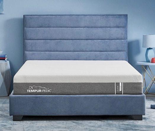 Tempur-cloud bed in a box