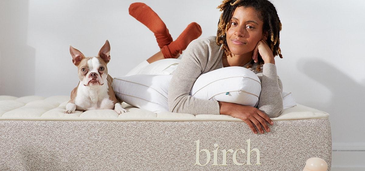birch pillow comfort organic review