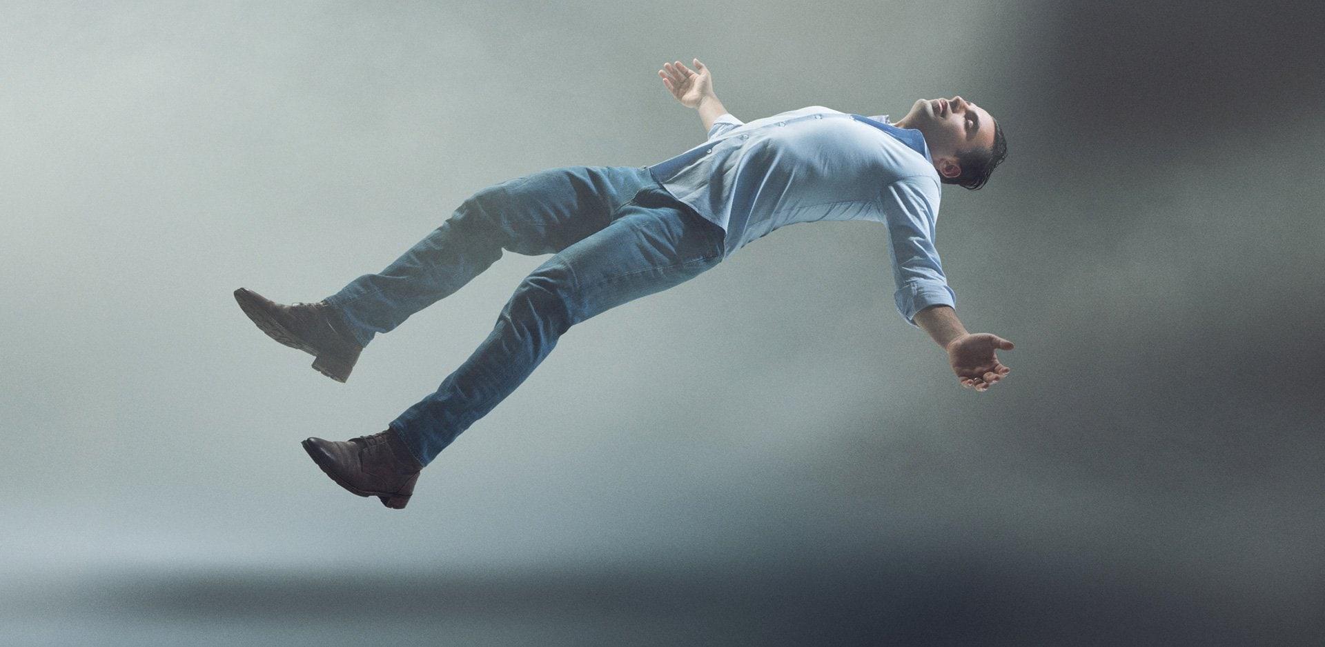 dreaming of falling