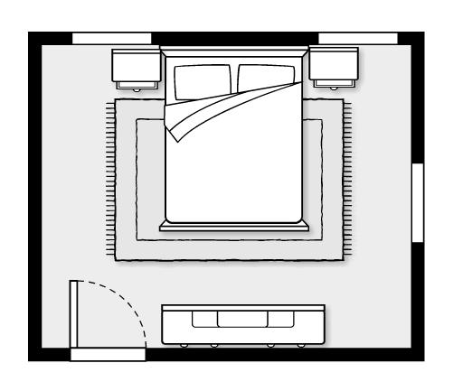 feng shiu sleep better layout room bedroom