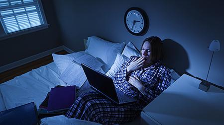 sleep better feng shui hide electronics laptop phone sleep better