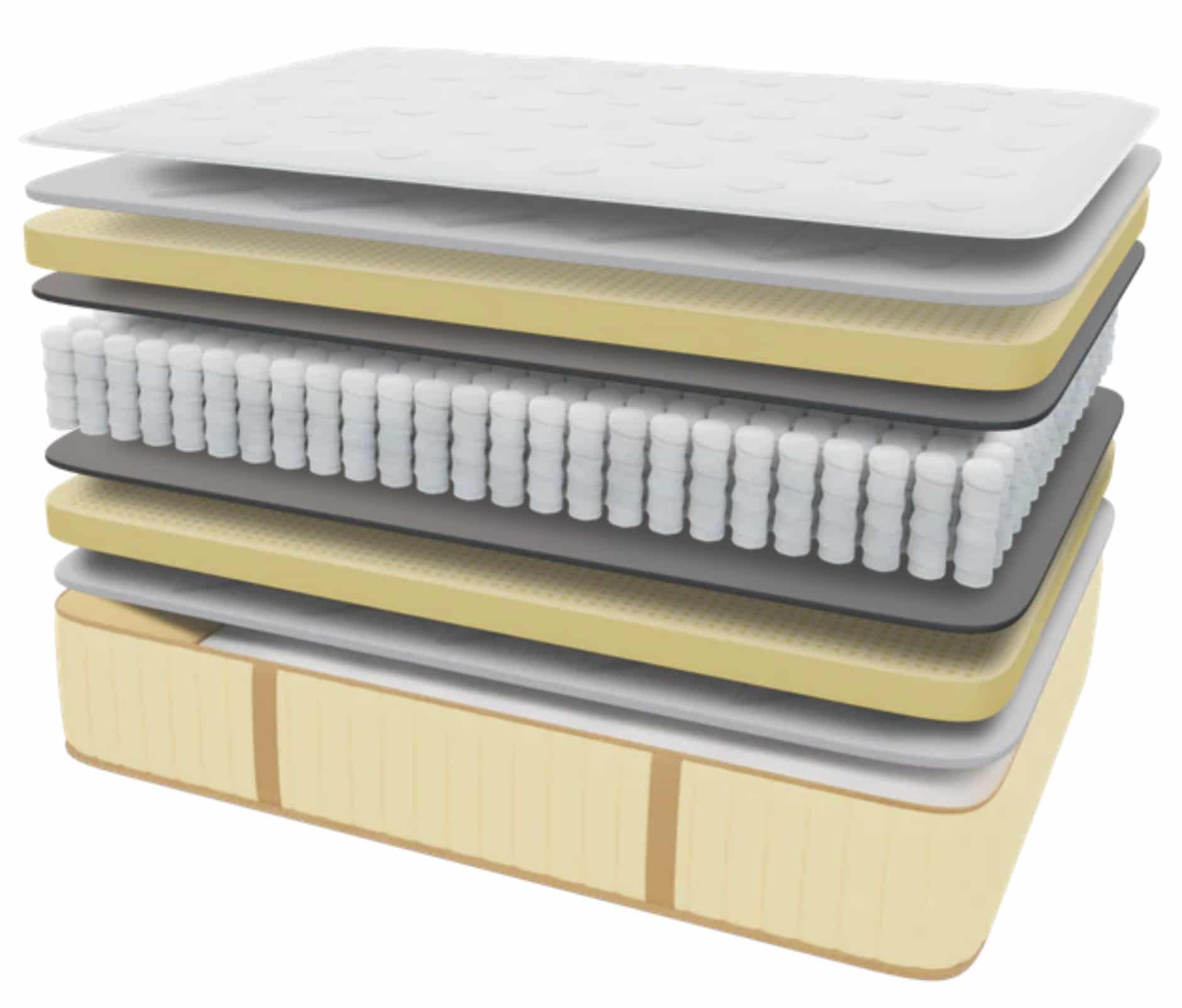 idle sleep latex hybrid materials