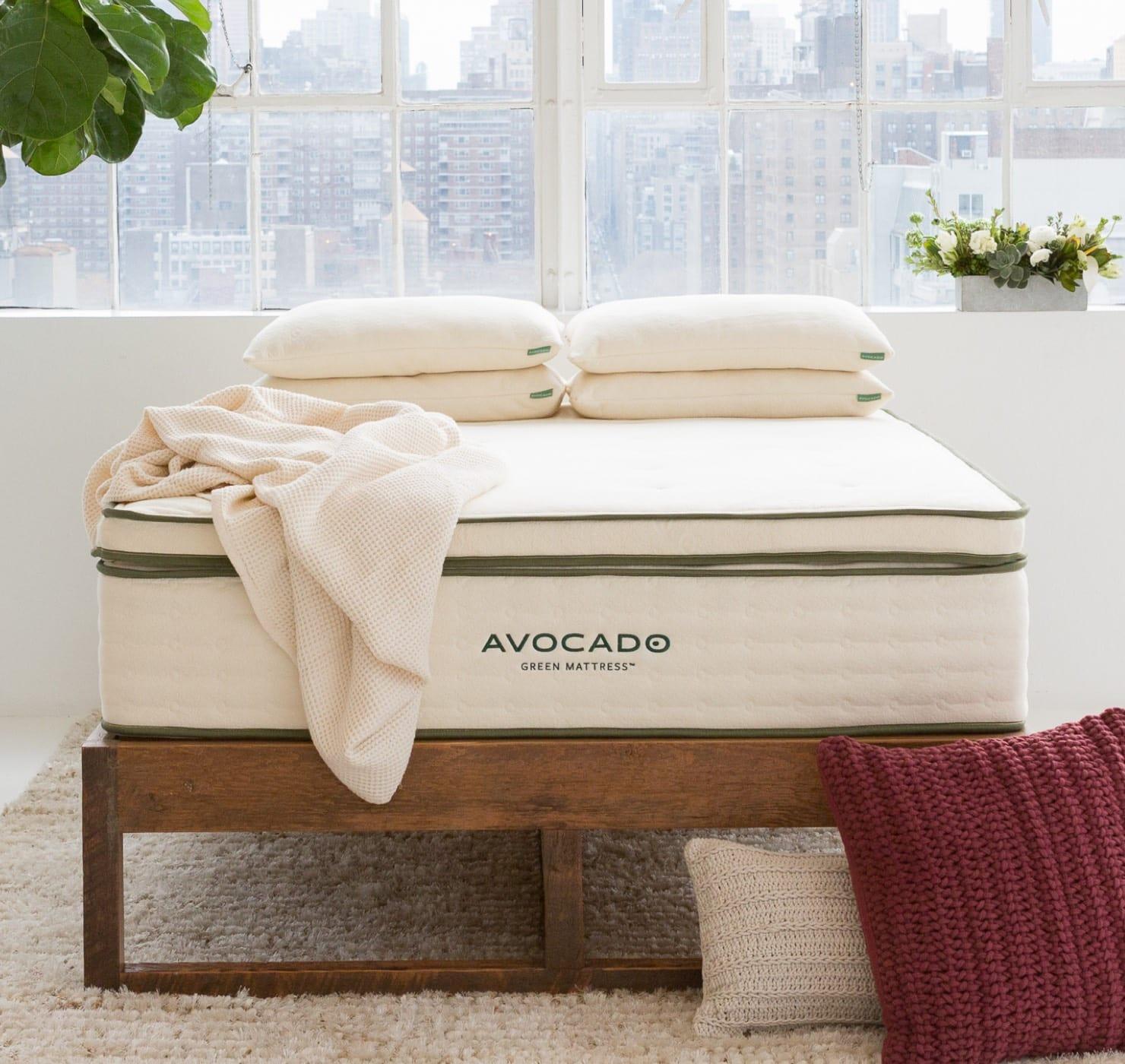 avocado cooling mattress topper
