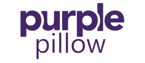 purple pillow logo
