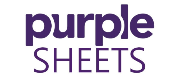 Purple Sheets Logo