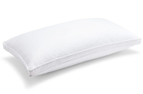 queen firm riley down pillow for side sleepers