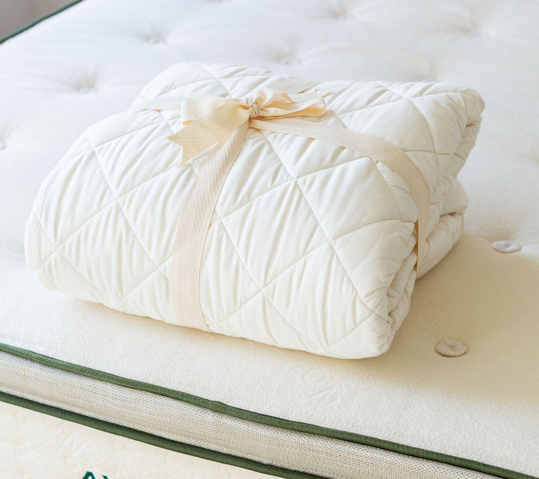 organic cotton mattress pad review