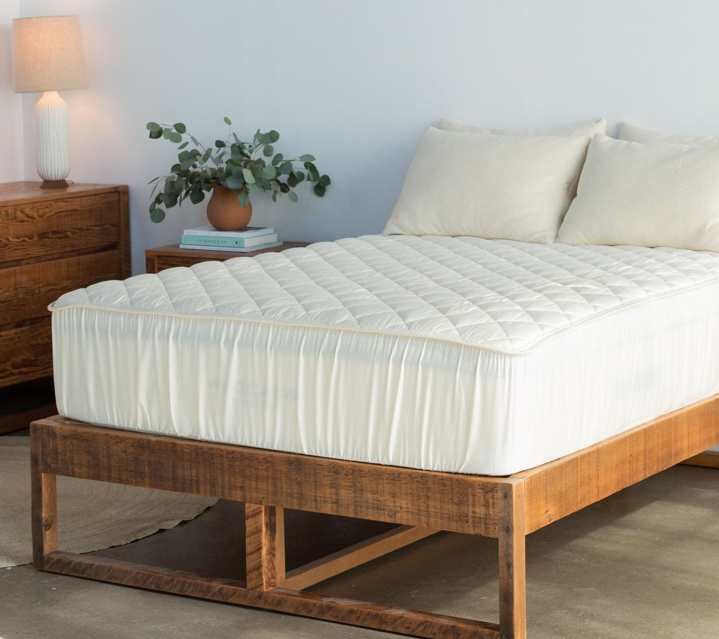 organic cotton mattress pad protector review