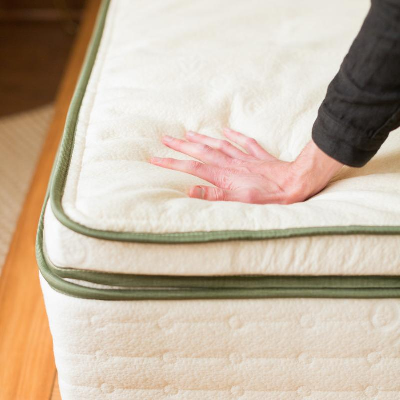 comfortable cotton and latex mattress topper